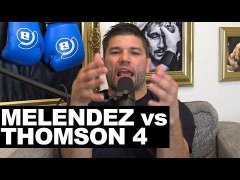 Josh Thomson pitches Gilbert Melendez tetralogy in Bellator to resolve 'unsettled business'