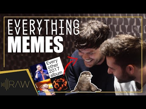 Everything Everything React to Their MEMES | RAW Interviews