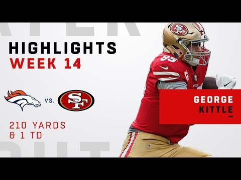 George Kittle Tears Through Denver's Defense w/ 210 Yards & 1 TD