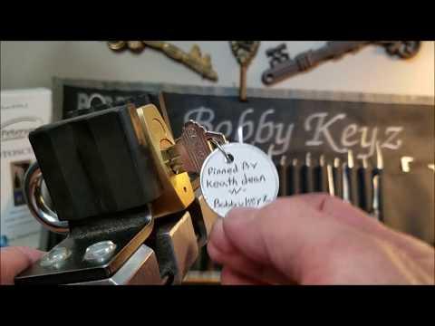 Взлом отмычками ABUS 8045  (382) ABUS 8045 Collaboration lock pinned by Keath dean & Bobby Keyz spp