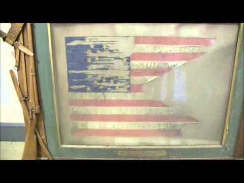 Civil War battle flag discovered in Lowell