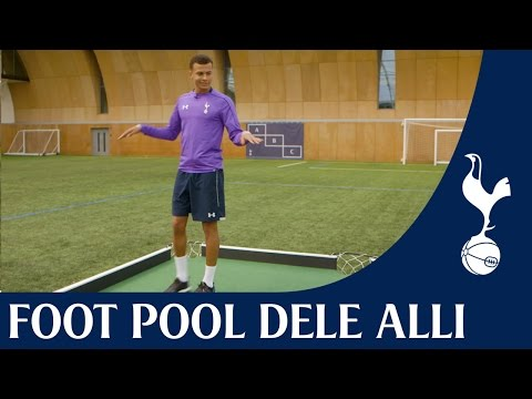 Spurs Foot Pool Challenge | feat. Dele Alli Ep. 4