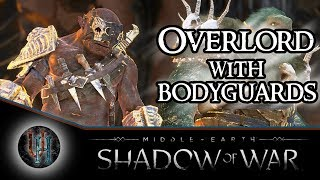 Middle-Earth: Shadow of War - Overlord with Bodyguards