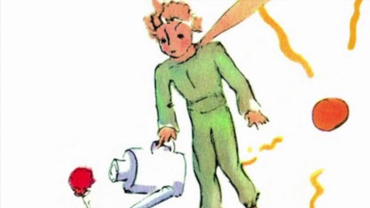Le Petit Prince Chapitre 8 La Rose Youtube