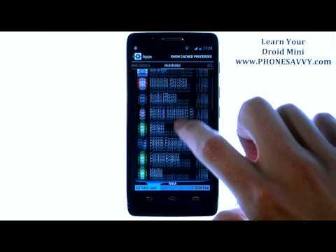 Motorola Droid Mini - How Do I Kill Running Applications
