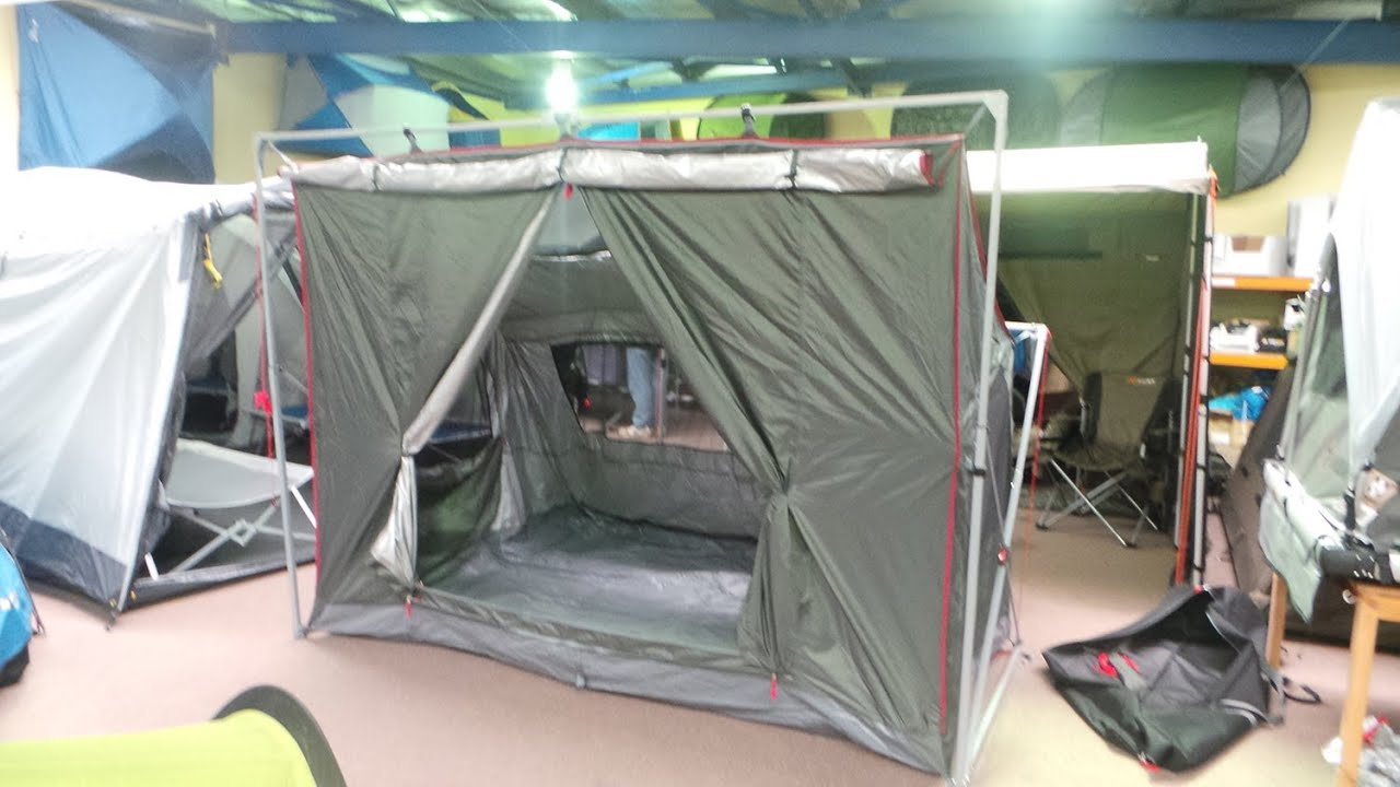 oztrail highlander 6 tent instructions