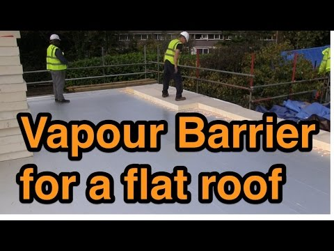 Vapour Barrier For A Flat Roof Youtube