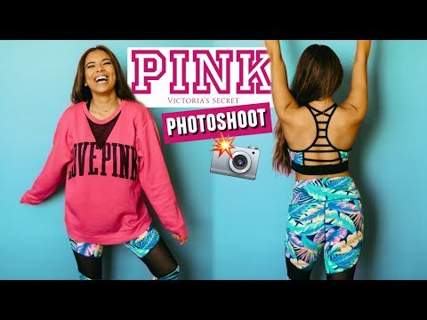 Working for Victoria's Secret PINK! Shooting as a model behind the scenes