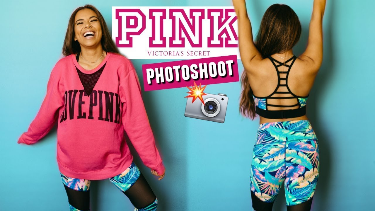 Working For Victorias Secret Pink Shooting As A Model Behind The Scenes
