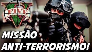 GTA V – Missão Anti Terrorista no Pier! NOoSE EXTRA MISSIONS MOD