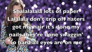 Zendaya - Swag it out (lyrics) (Full song)