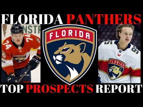 TOP NHL PROSPECTS 2018 - FLORIDA PANTHERS