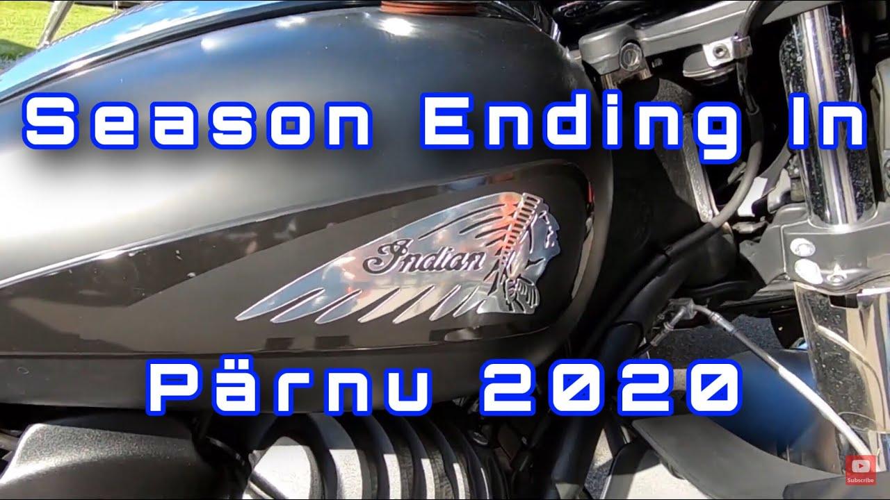 Motorcycle season ending In Pärnu 2020