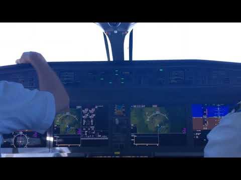 C Series Cockpit Flight