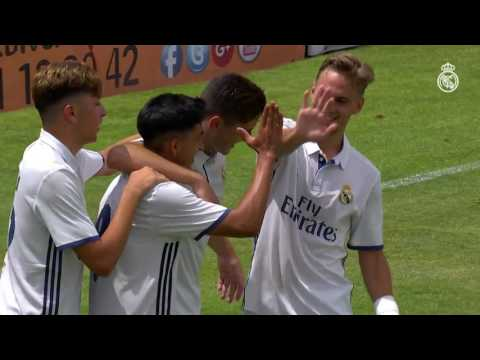 Real Madrid vs Atletico Madrid 4-1 Extra Time Juvenil Copa del Rey 25.06.2017 All Goal