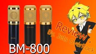 review ร ว ว ไมค bm 800 microphone condenser   lazada