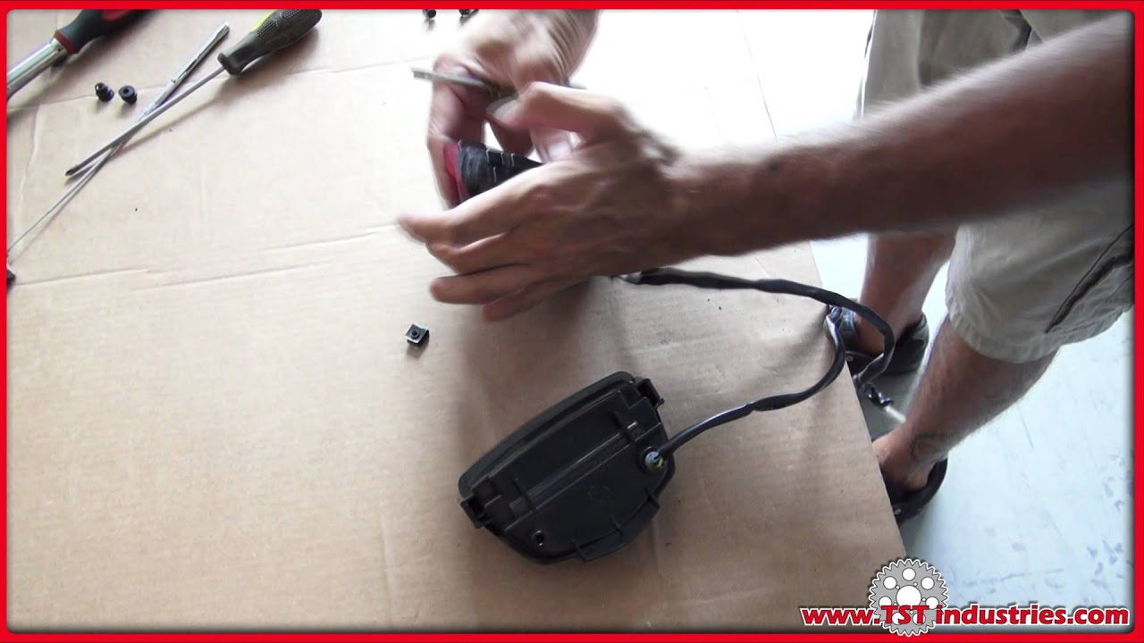 How To 2008 2011 Honda Cbr 1000rr Integrated Tail Light Install By 07 R1 Wiring Diagram Tst Industries