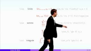 Leçons de choses - partie 3 : LaTeX en cinq minutes