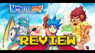 Monster Boy and the Cursed Kingdom Review (Video Game Video Review)