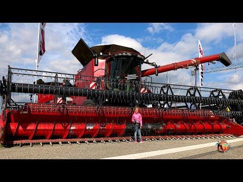 Agriculture CASE Ih TRAKTOR, COMBINE, AGRO FARM MACHINERY!! DEN ZEMĚDĚLCE 2019