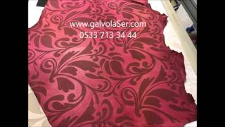 Kanat Deri Galvo Lazer işleme dekorasyon //05337133444//Sei Giotto Lazer