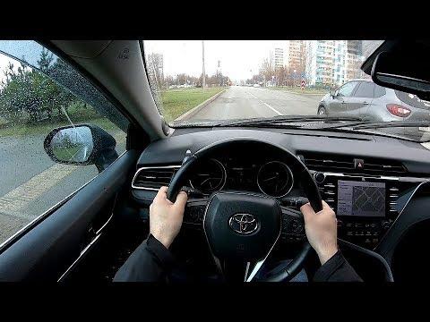 2018 Toyota Camry 3.5L (249) POV TEST DRIVE