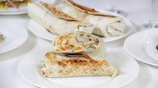 Готовим шаурму и мужской салат