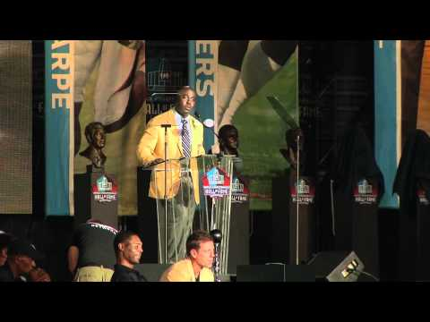 Marshall Faulk Hall of Fame Speech - 101ESPN