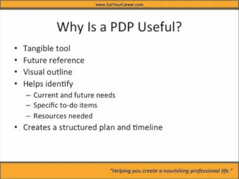 What Is A Professional Development Plan  Youtube