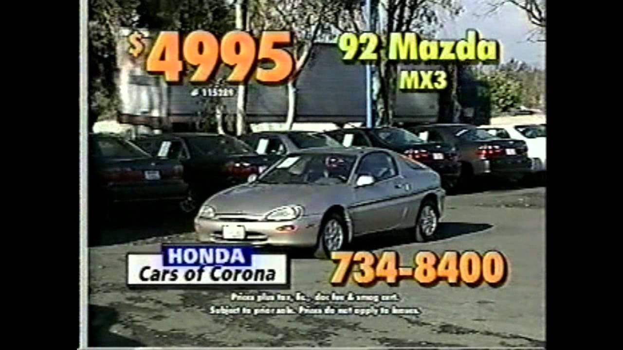 Honda Cars Of Corona   Commercial #8