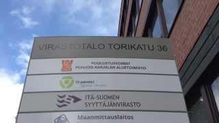 役所で身分登録&フィン語ミニ講座