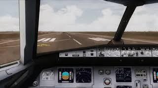 Condor A320 Cockpit Take Off Bangkok - [Runsame Classics] FSX