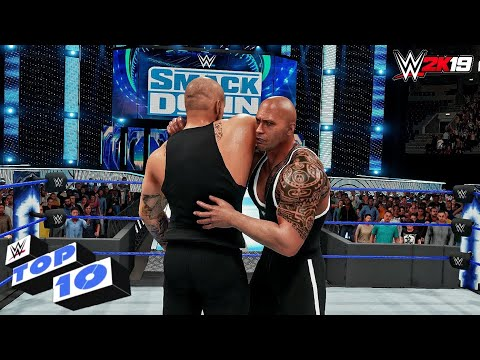 WWE 2K19 - Top 10 Friday Night SmackDown Moments   Oct. 4, 2019