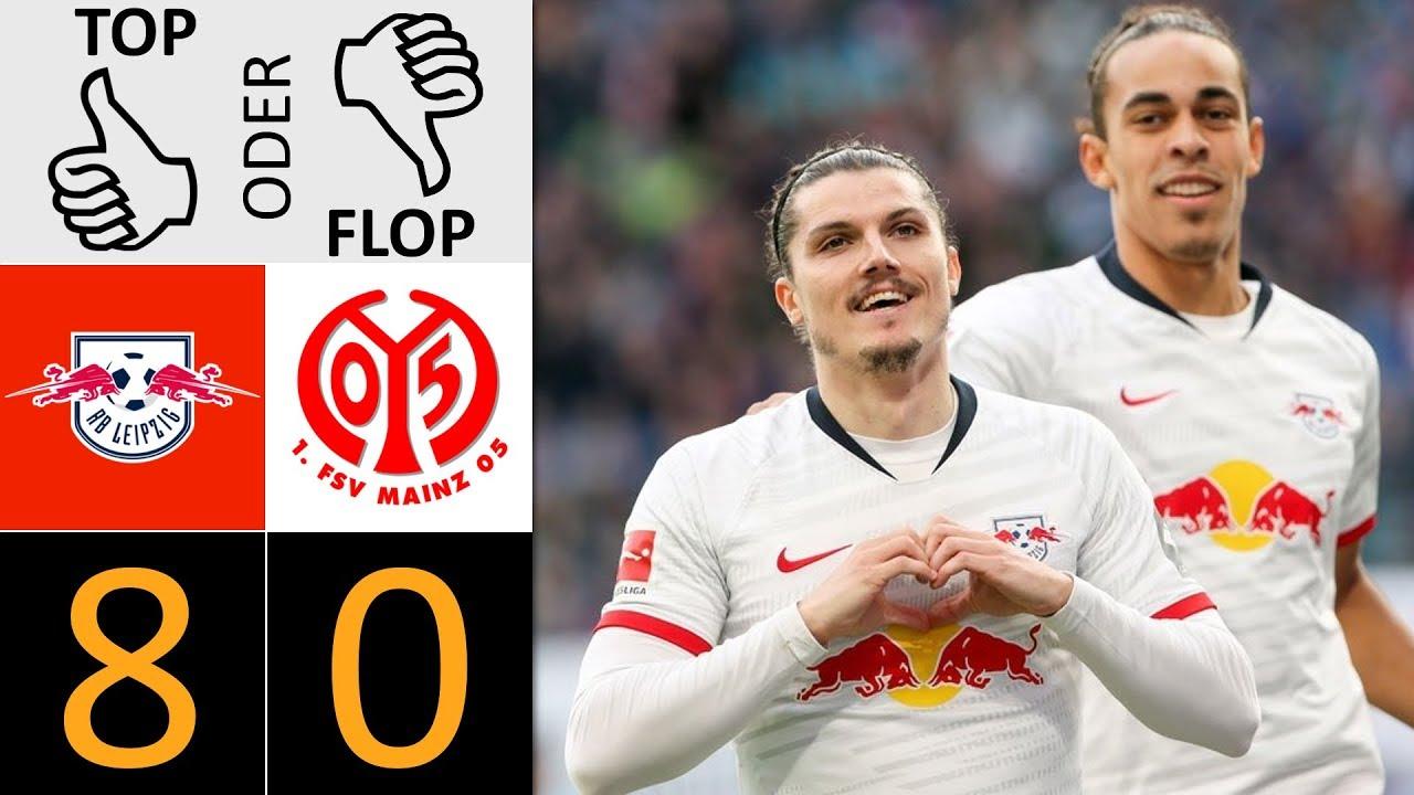 Rb Leipzig Mainz 05 8 0 Top Oder Flop Youtube