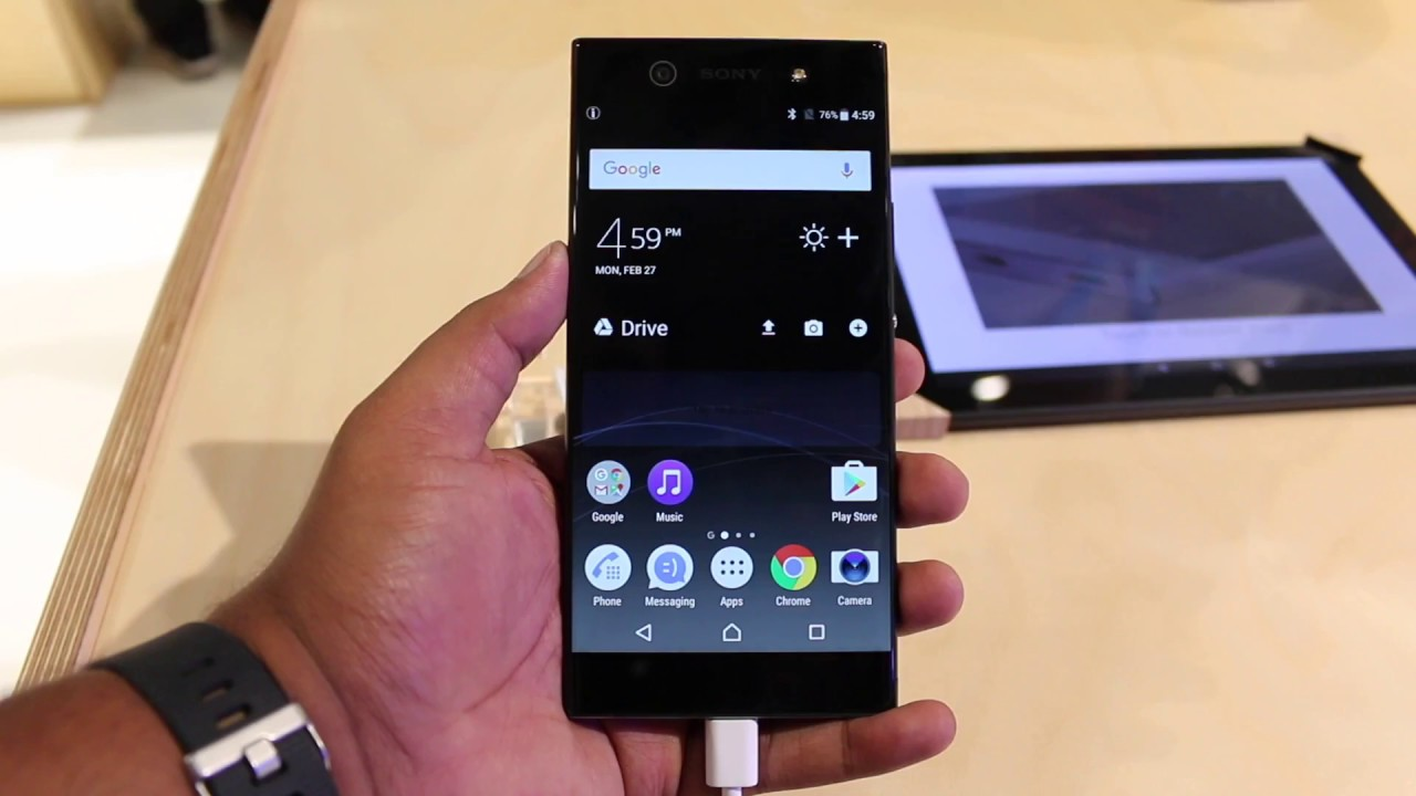 google how to find photos on sony xperia