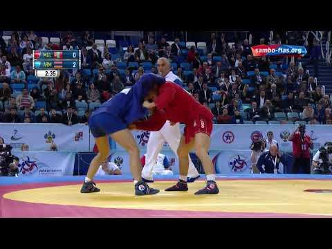 Sambo CHIMEDDORJ(MGL) - KIRAKOSYAN(ARM) World Champioships 2017