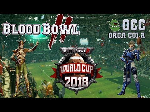 WORLD CUP qualifier! Wood Elves (the Sage) vs Elven Union (Borke) - OCC WCQ G5 (Blood Bowl 2)