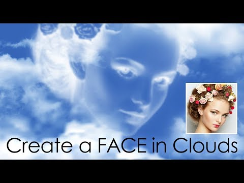Photoshop: How to Create a Face in Clouds thumbnail