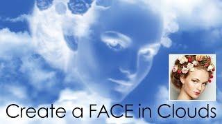 Photoshop: so Erstellen Sie ein Gesicht in den Wolken