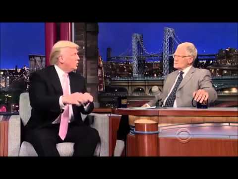 Donald Trump on David Letterman 17 October, 2013 Full