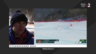 JO 2018 : Combiné alpin - Descente Hommes. Alexis Pinturault