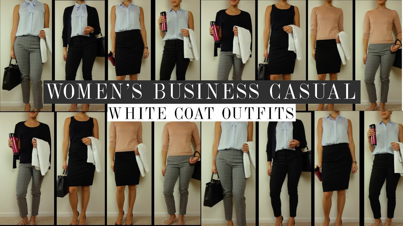 343ab05efe2 Business Casual Looks on a Budget  Whitecoat Outfits