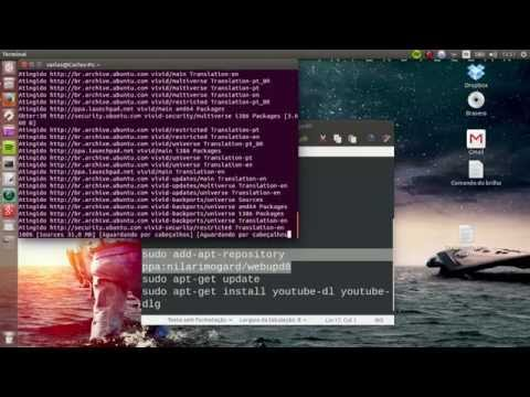 Tutorial de como instalar o YouTube DL GUI gráfico(Ubuntu)/ Install Youtube Dl Gui graphical(Ubuntu)