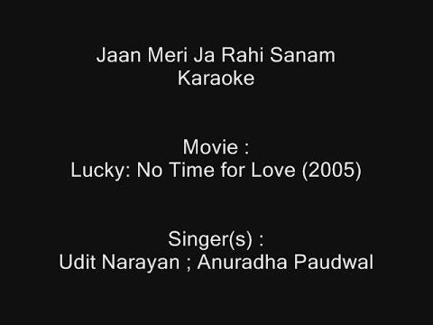 Jaan Meri Ja Rahi Sanam - Karaoke - Lucky(2005) - Udit Narayan ; Anuradha Paudwal