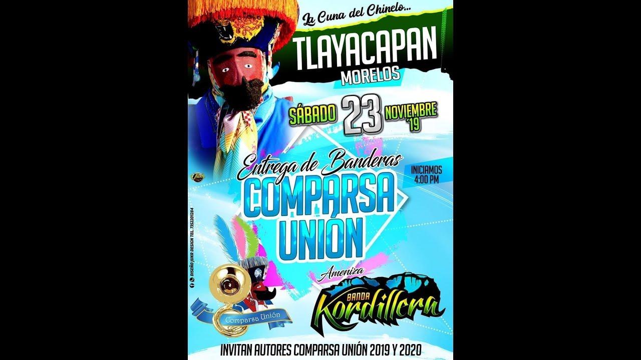 comparsa union convite 2019  tlayacapan morelos