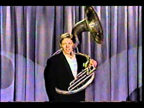 Tom Wilson Tuba sousaphone standup tonight