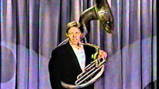 Tom Wilson Tuba (sousaphone) standup (tonight show)