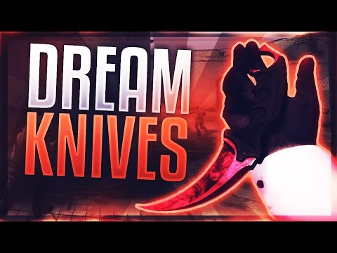 CSGO TOP 10 DREAM KNIVES (CSGO BEST LOOKING KNIVES)