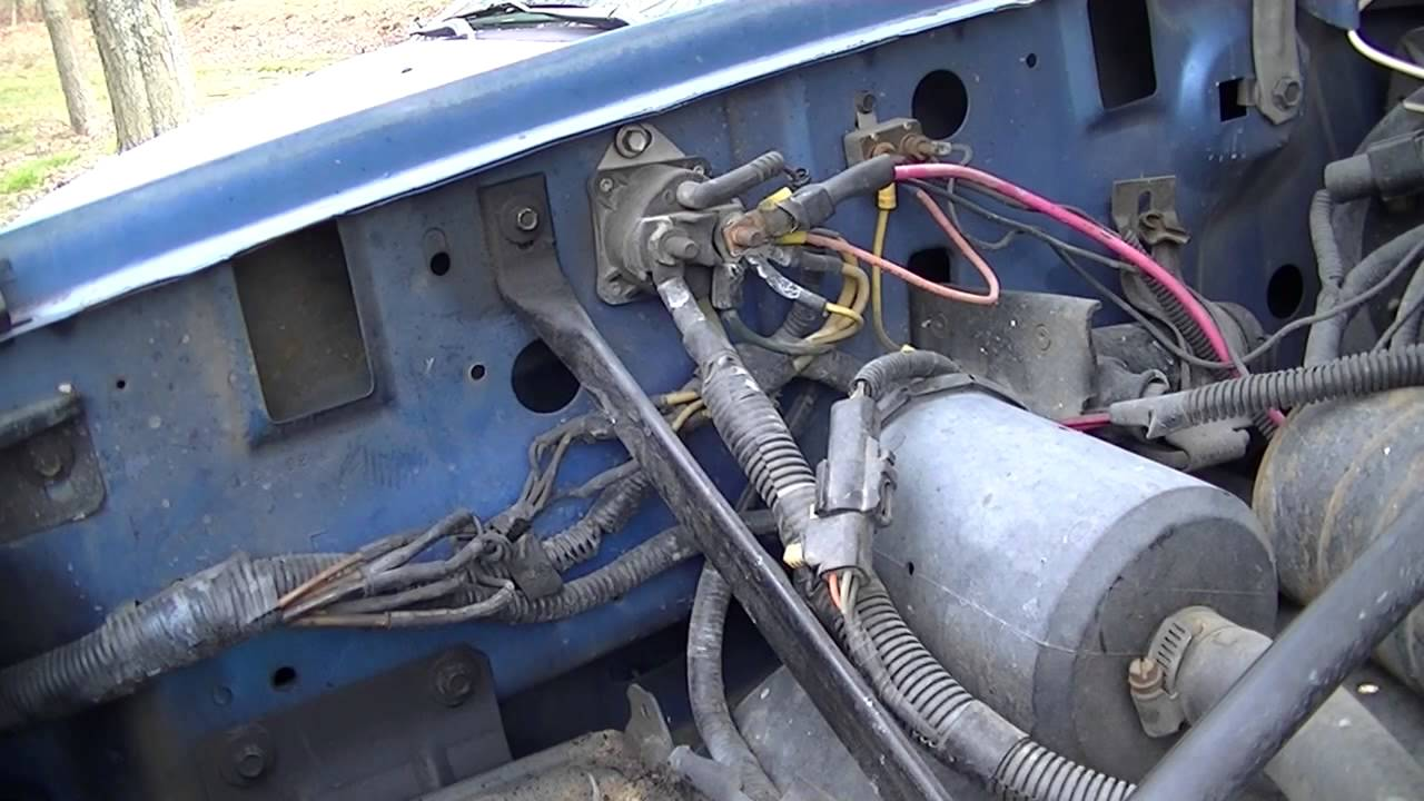 Blue F150 Battery Cable Replacement  YouTube