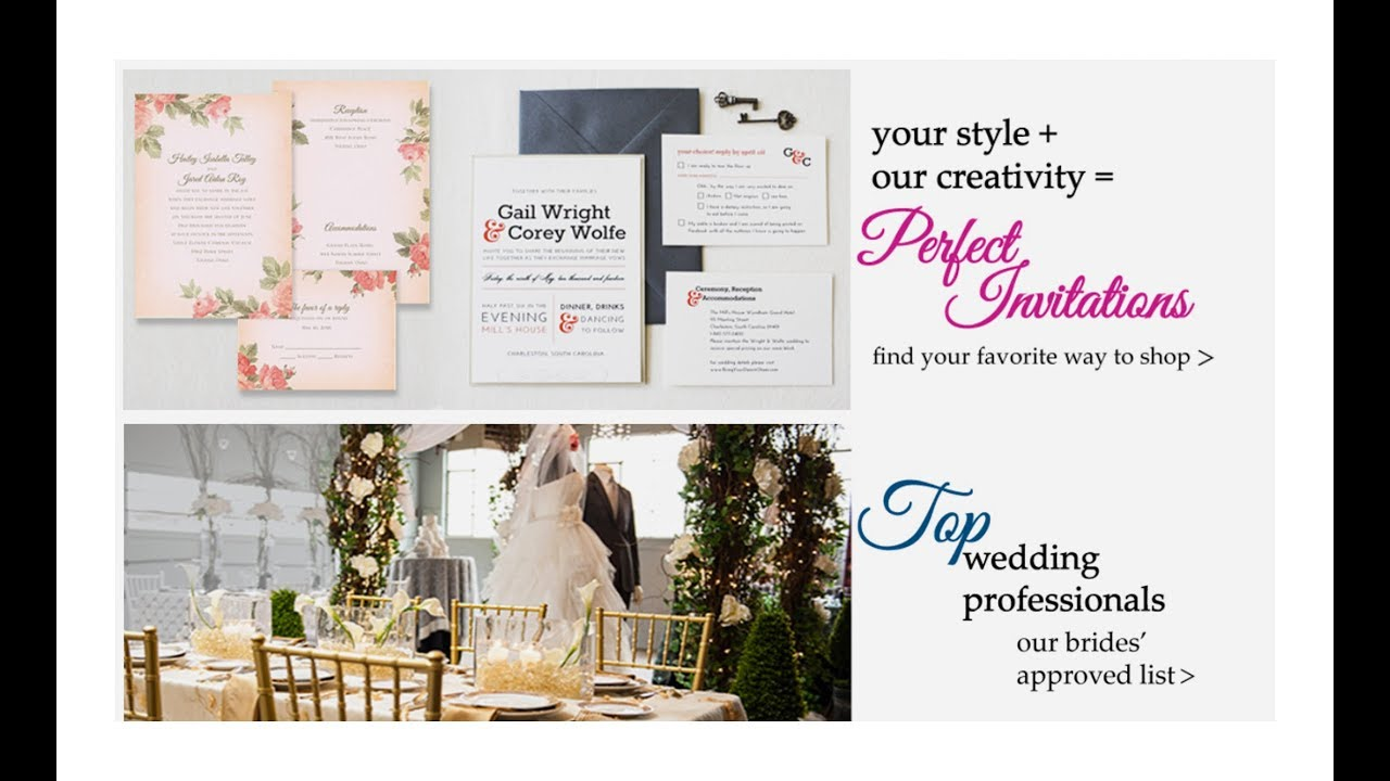 Best Wedding Invitations in Cincinnati Ohio Best Wedding Planners